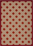 Nourison Aloha ALH02 RED Red Area Rug