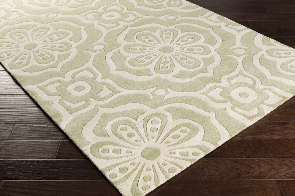 Surya Kate Spain Alhambra Alh 5022 Sea Foam Ivory Closeout