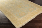 Surya Antique ATQ-1005 Light Gray/Sage/Wheat/Pale Pink Area Rug