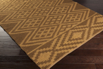 Surya Aztec AZT-3005 Gold/Gold Closeout Area Rug - Spring 2015