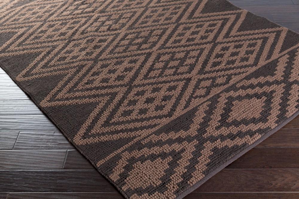 Surya Aztec Azt 3007 Chocolate Mocha Closeout Area Rug