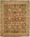 HRI Oushak Crown B-260 Brown/Beige Area Rug