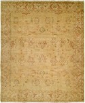 HRI Oushak Crown B-2B Gold/Ivory Area Rug