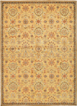Kathy Ireland Home Ancient Times BAB01 GLD Persepolis Gold Area Rug