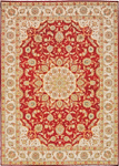 Kathy Ireland Home Ancient Times BAB02 RED Lydia Red Area Rug