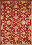 Kathy Ireland Home Ancient Times BAB05 RED Judah Red Area Rug