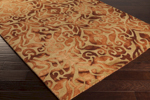 Surya Belladonna BDA-3002 Burnt Orange/Burgundy/Olive Area Rug