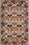 Surya Bungalow BNG-5004 Ivory/Burgundy Closeout Area Rug - Fall 2012