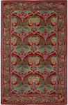 Surya Bungalow BNG-5009 Red/Teal Closeout Area Rug - Fall 2012