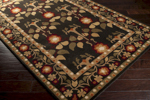 Surya Bungalow BNG-5019 Jet Black/Bronze/Copper Penny Closeout Area Rug