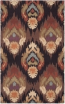 Surya Brentwood BNT-7672 Espresso/Malachite Green/Cinnamon Spice Closeout Area Rug - Spring 2014