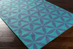 Surya Brentwood BNT-7695 Teal/Slate Closeout Area Rug - Fall 2015