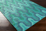 Surya Brentwood BNT-7700 Teal/Emerald/Kelly Green Closeout Area Rug - Fall 2015