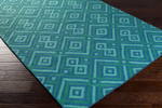 Surya Brentwood BNT-7704 Teal/Teal Closeout Area Rug - Fall 2015