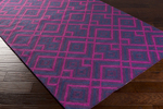 Surya Brentwood BNT-7705 Eggplant/Magenta/Navy Closeout Area Rug - Fall 2015