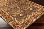 Surya Basilica BSL-7194 Dark Brown/Bronze/Carnelian Closeout Area Rug - Fall 2015