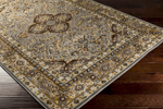 Surya Basilica BSL-7202 Dark Brown/Olive/Pewter Closeout Area Rug