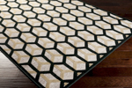 Surya Basilica BSL-7206 Caviar/Flint Grey/Slate Green Closeout Area Rug - Fall 2014