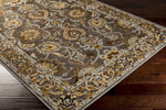 Surya Basilica BSL-7208 Dark Brown/Pewter/Olive Closeout Area Rug - Fall 2014