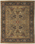 Surya Bursa BUR-9117 Chocolate/Beige/Mocha/Rust/Gold Area Rug