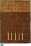 HRI Camelot 16 Brown Closeout Area Rug