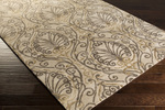 Surya Candice Olson Modern Classics CAN-2013 Taupe/Brindle/Pewter Area Rug