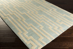 Surya Candice Olson Modern Classics CAN-2022 Cloud Blue/Ivory Closeout Area Rug - Fall 2015