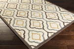 Surya Candice Olson Modern Classics CAN-2024 Ivory/Espresso/Pewter Area Rug