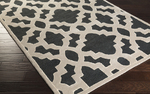 Surya Candice Olson Modern Classics CAN-2036 Black/Beige/Ivory Area Rug