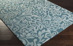Surya Candice Olson Modern Classics CAN-2047 Teal/Moss Closeout Area Rug - Fall 2015