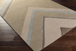 Surya Candice Olson Modern Classics CAN-2058 Taupe/Olive/Beige Area Rug