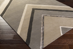Surya Candice Olson Modern Classics CAN-2059 Taupe/Charcoal/Beige Area Rug