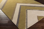 Surya Candice Olson Modern Classics CAN-2060 Olive/Beige/Light Grey Area Rug