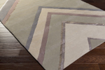Surya Candice Olson Modern Classics CAN-2061 Beige/Mauve/Grey Area Rug