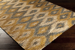 Surya Columbia CBA-102 Camel/Golden Brown/Midnight Green Closeout Area Rug - Fall 2014