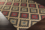 Surya Columbia CBA-111 Beige/Charcoal/Cherry Closeout Area Rug - Fall 2015