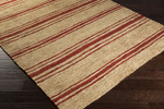 Surya Columbia CBA-120 Beige/Cherry Closeout Area Rug - Fall 2015
