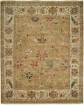 HRI Newburry CH-7 Lt Gold/Ivory Closeout Area Rug