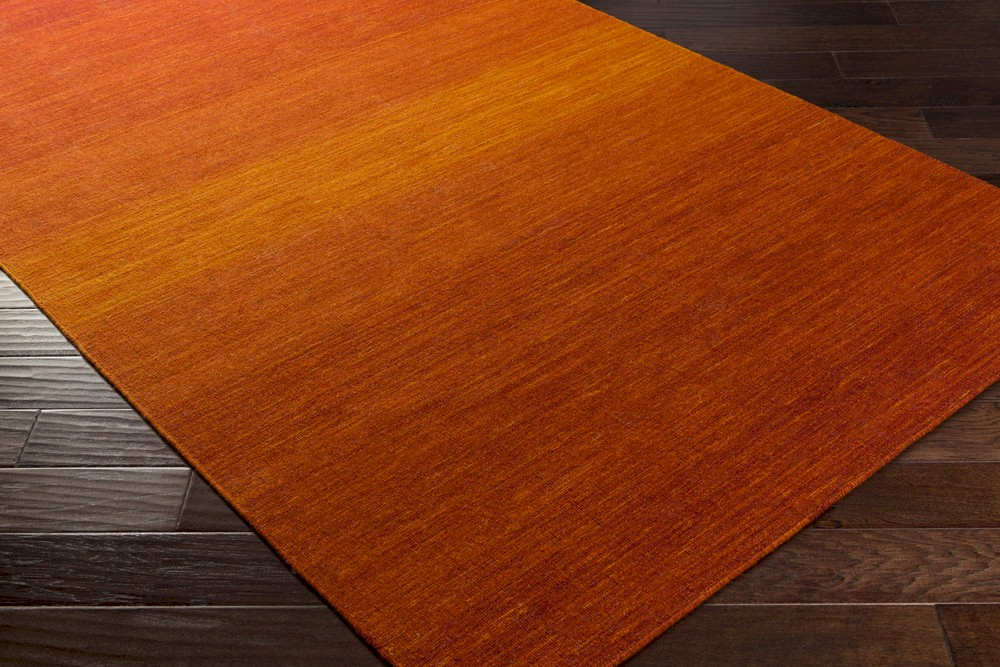 Surya Chaz Chz 5004 Tangerine Burnt Orange Cherry Closeout