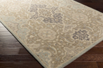 Surya Castello CLL-1025 Taupe/Olive/Beige/Moss/Grey Area Rug
