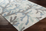Surya Cosmopolitan COS-9260 Light Grey/Slate/Moss Area Rug