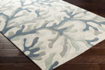 Surya Cosmopolitan COS-9262 Light Grey/Navy/Grey Area Rug