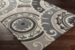 Surya Cosmopolitan COS-9268 Taupe/Beige/Light Grey Area Rug