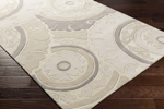 Surya Cosmopolitan COS-9269 Ivory/Light Grey/Grey Area Rug