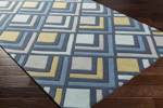 Surya Cosmopolitan COS-9274 Navy/Slate/Olive/Light Grey Area Rug