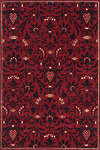 Momeni Capri CR-02 Red Closeout Area Rug - Fall 2009
