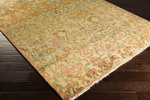 Surya Cheshire CSH-6000 Gold/Teal/Sienna Area Rug