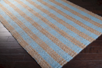 Surya Country Living Country Jutes CTJ-2022 Pale Blue/Praline/Tan Closeout Area Rug - Fall 2014