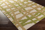 Surya Courtyard CTY-4017 Lime/Tan/Beige Area Rug