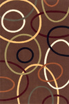 Momeni Elements EL-09 Brown Closeout Area Rug